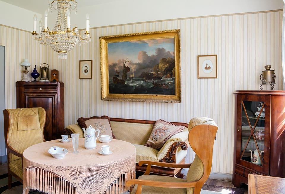 Äldre vardagsrum