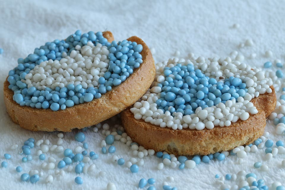 Blåvita kakor