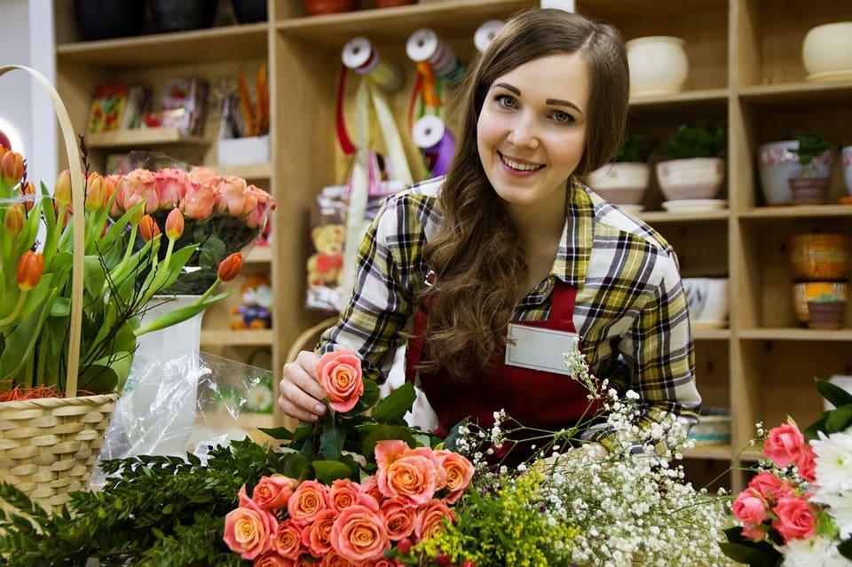 Blomsteraffär