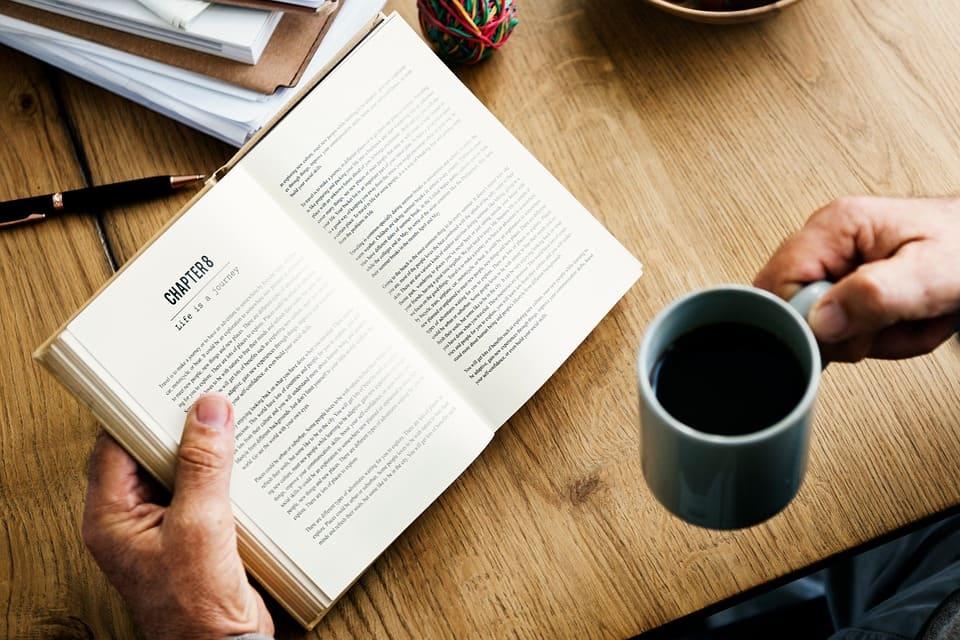 Kaffe till boken