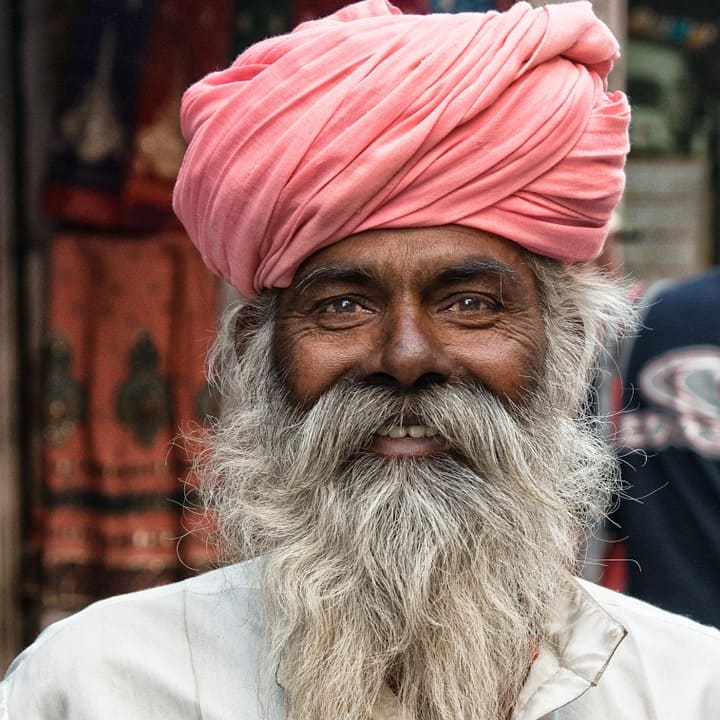Man med turban