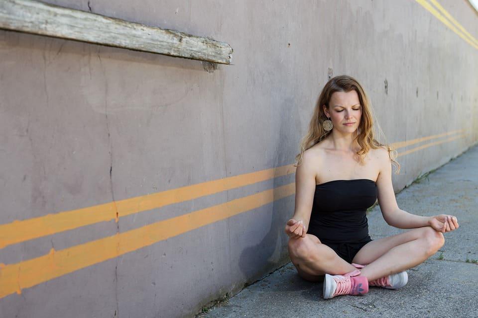 Meditation på stan