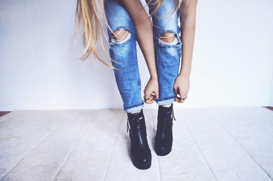 Snygga jeans