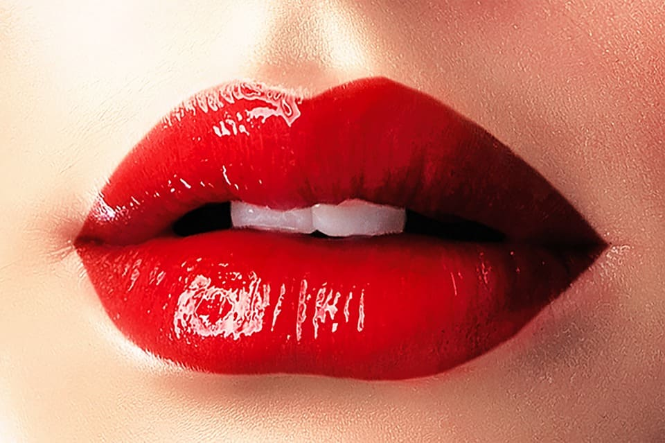 Vackra läppar
