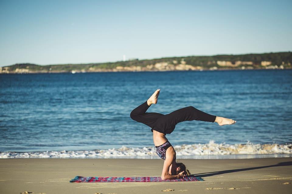 Yoga på huvudet